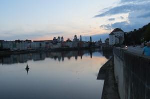 Passau proti večeru