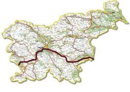 jakobova pot zemljevid